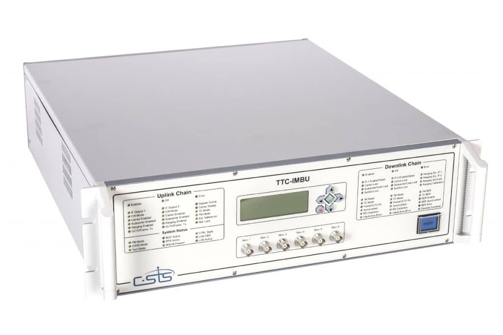 Ground Station Equipment - AIT Modem Front angle